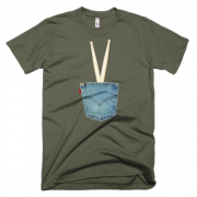 IN THE POCKET – Short sleeve men's t-shirt