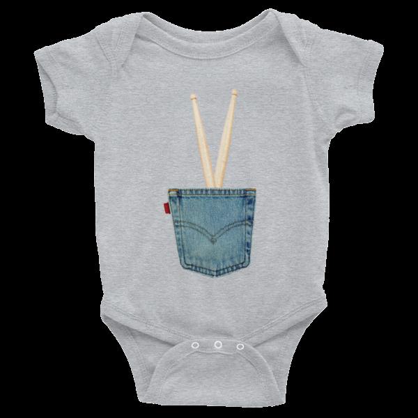 29d5fd454 IN THE POCKET – Infant short sleeve one-piece – fluido.net